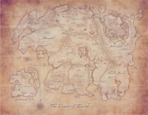 Map of Tamriel